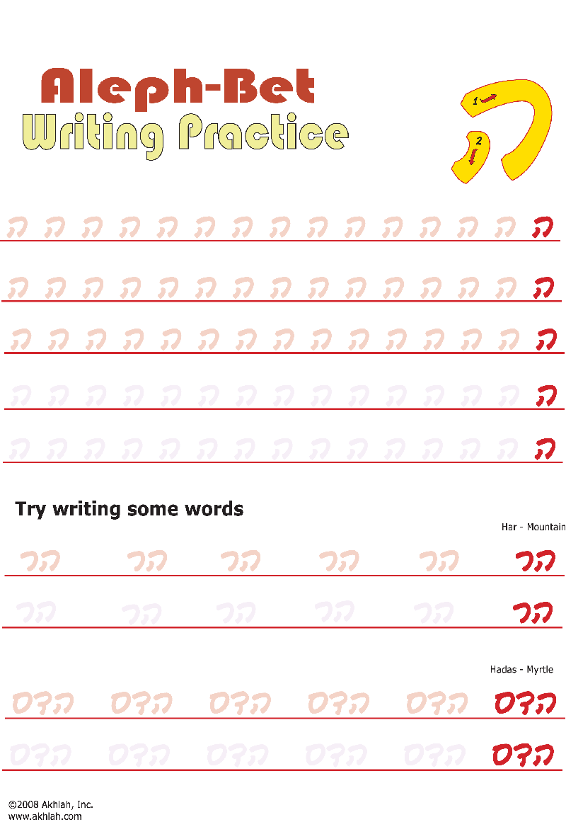 Akhlah The Jewish Children 39 S Learning Network Worksheets